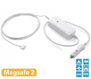 12V autolader voor MacBook Air 11/13 inch (magsafe 2)