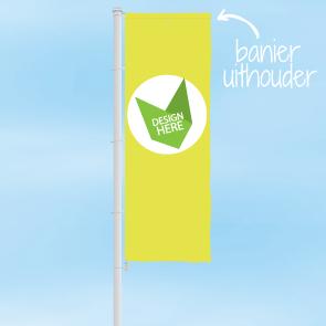 Polyester Banier Vlaggenmast 6 meter, 7 meter of 8 meter