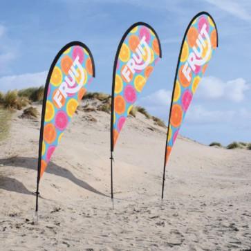 Druppel vorm beachflags beachvlag drop