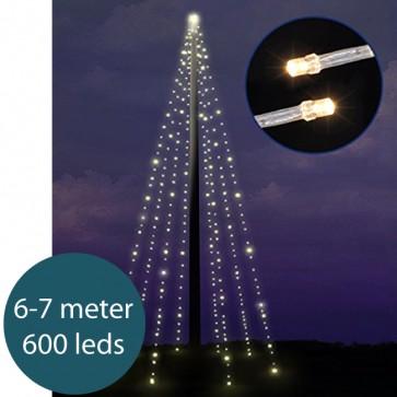 Verlichting voor vlaggenmast 6-7 meter