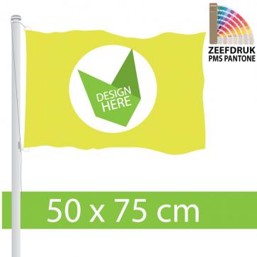 Zeefdruk 50 x 75 cm Vlaggen - Voor 100% kleurechtheid.