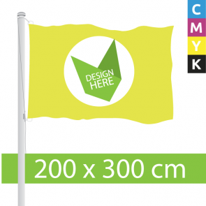 Vlaggen 200 x 300 cm - Nergens Goedkoper. Bestel hier.