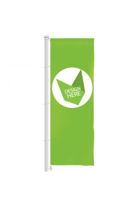 Banier vlag 500 x 120 cm