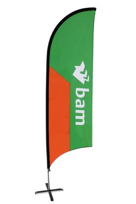 Feather beachflag