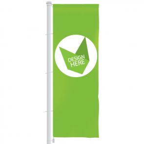Banier vlag 300 x 100 cm bedrukken