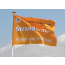 Vlag 70 x 100 cm voor vlaggenmast bedrukken full colour logo of ontwerp