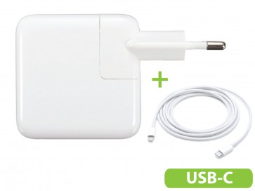 USB C adapter 30W voor MacBook Air 13-inch (Adapter MacBook Air Retina)