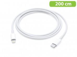 USB-C naar lightning 8 pins kabel 200 cm