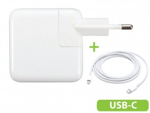 30W USBC macbook air oplader met USB-C aansluiting