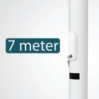 7 meter - +€10,00 (+€12,10 Incl. BTW)