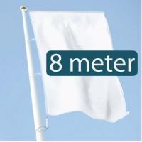 8 meter - +€80,00 (+€96,80 Incl. BTW)