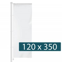 Banier 350 x 120 cm - +€46,00 (+€55,66 Incl. BTW)