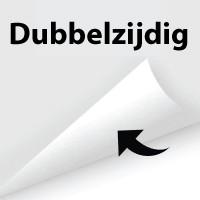 Dubbelzijdig - +€23,00 (+€27,83 Incl. BTW)