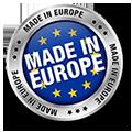 Onze beachflags worden in Europa geproduceerd