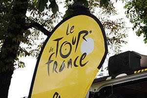 Tour de France beachflags