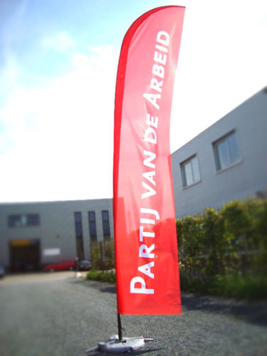 PVDA beachflags