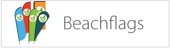 Beachflag bedrukken
