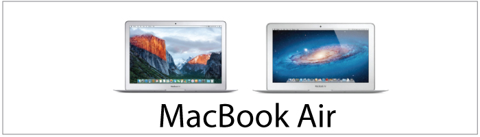 MacBook Air onderdelen