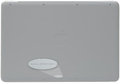 MacBook onderzijde