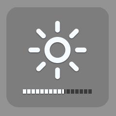 TIP 6: Verminder helderheid van beeldscherm bij gebruik van batterij