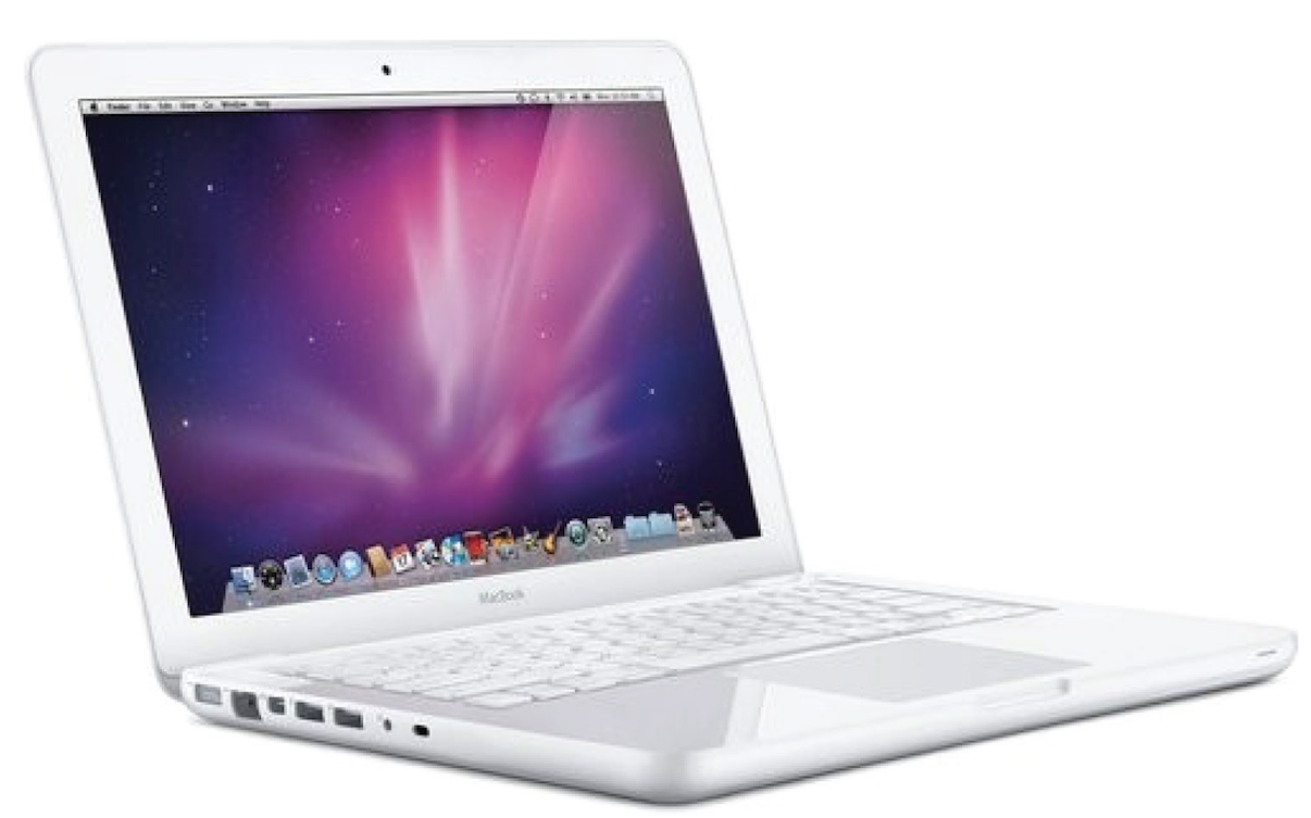 MacBook white unibody wit 13,3 inch van eind 2009 - medio 2011