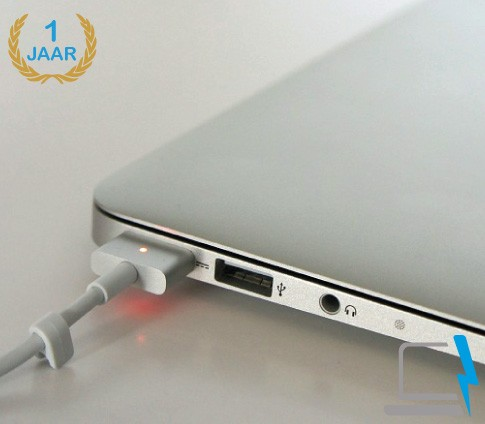 45 watt magsafe 2 oplader voor de Apple MacBook Air