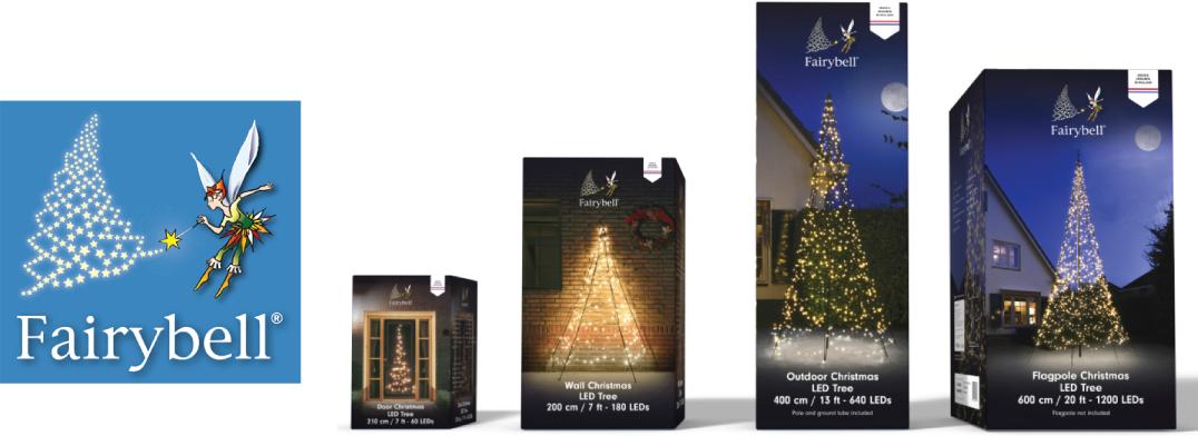 Fairybell verlichting mast kerstboom kopen bestellen